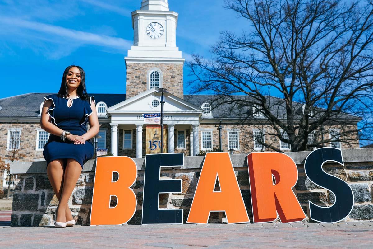 dress - Campus: on Looks Morgan University video