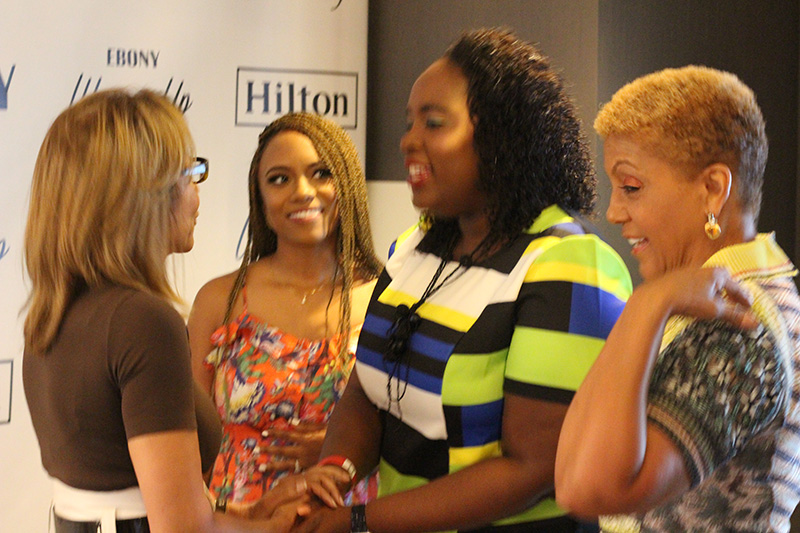 Hot ebony teen on webcam
