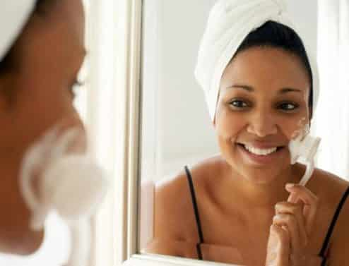 Do it yourself at home steam facial prep your face by washing with your normal cleanser follow up with a light exfoliation by using a scrub or a small mixture of baking soda and water solutioingenieria Images