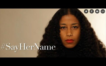 Poet Aja Monet Confronts Police Brutality Against Black Women With #SayHerName
