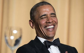 Watch Obama Skewer Republicans, Media, and Himself at White House Correspondents Dinner