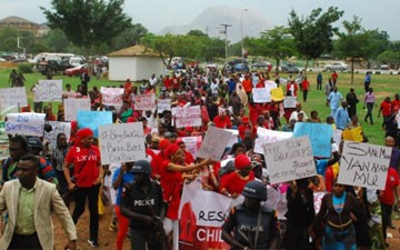Nigeria's President on kidnapped girls: 'We'll get them out'