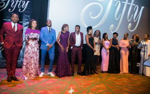 Nigeria Unveils 'Fifty' Film Premiere in High Style