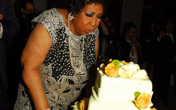 Aretha Franklin Announces New Album at 70th Birthday Party