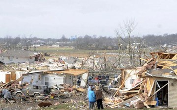 Tornadoes Ravage South and Midwest