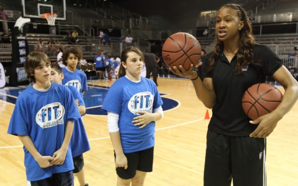 [INTERVIEW] WNBA's REIGNING MVP TAMIKA CATCHINGS IS DRIBBLING TO STOP DIABETES