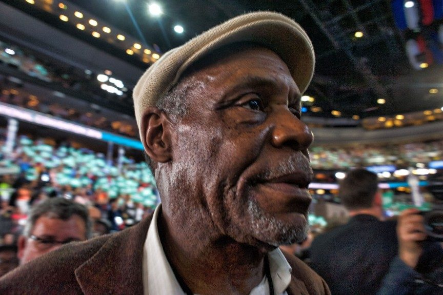 Actor Danny Glover was on hand to lend his support to the Democrats. Photo: Geoff Black/EBONY