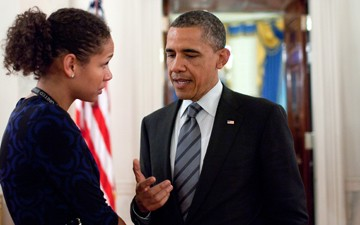 [INTERVIEW] Iraq Veteran Darienne Page Leads Obama's Efforts to Honor the Troops