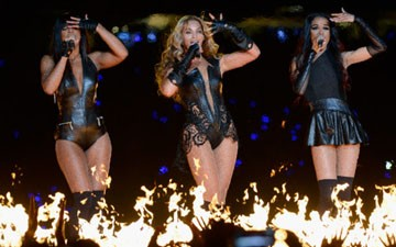 Kelly Rowland, Beyoncé and Michelle Williams