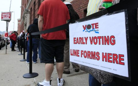 Early Voting Numbers Surpass 2014's in Multiple States
