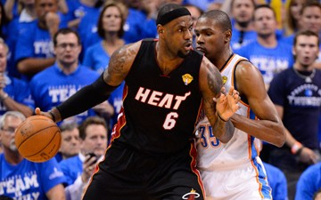 NBA FINALS GAME 2:Miami Turns Up the Heat