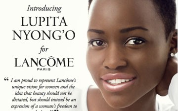 Lupita Nyong'o's First Ad For Lancome Is Obviously Stunning