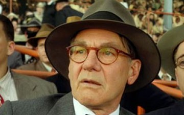 Harrison Ford as Branch Rickey in '42′