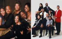 Living Single and Fresh Prince of Bel-Air Casts