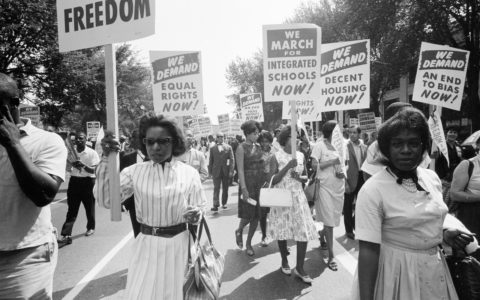 Black Women Face Wealth Gap 50 Years After the March