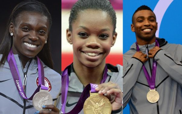 Red, White and Black: The 2012 Olympics