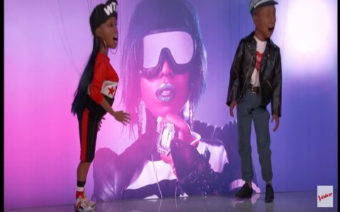 Missy Elliott Ignites 'The Voice' Stage with 'WTF'! [VIDEO]
