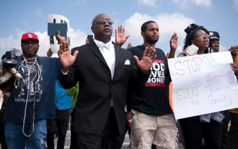 A Weekend of Protests in Ferguson