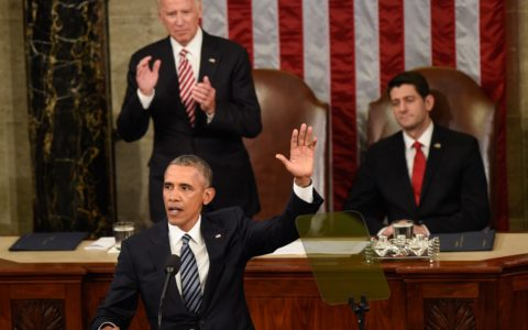 In Final State of the Union, Obama Answers Critics, Forges Vision