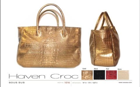 [THAT THING] 'Haven Croc' Bag by SOUS SUS
