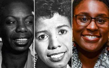 Lorraine Hansberry, Nina Simone, and Issa Rae