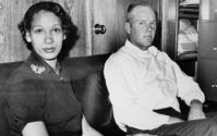 Richard P. Loving and his wife, Mildred, pose in this Jan. 26, 1965, file photograph.