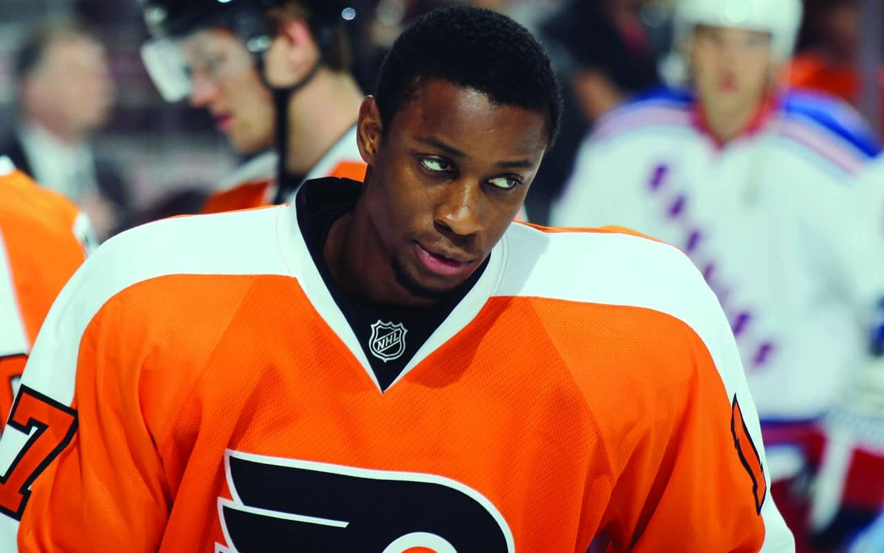 161154882 Racial Slurs Hurled at Philadelphia Flyers  Wayne Simmonds • EBONY