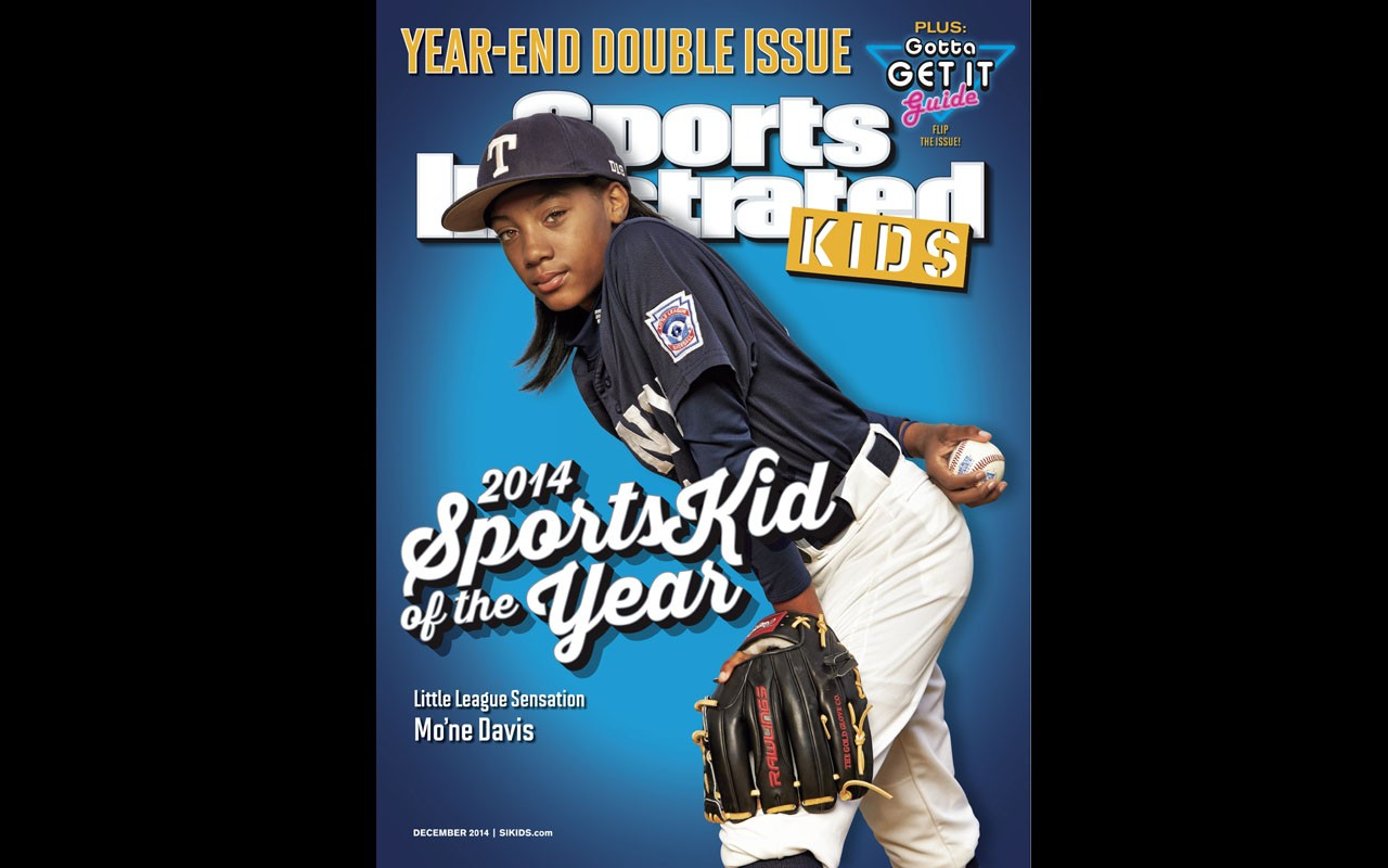 13-Year-Old MO'NE DAVIS IS the 2014 Sports Illustrated Kids SportsKid of the Year