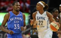 Kevin Durant gets engaged to WNBA's Monica Wright