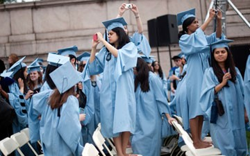Graduates from Columbia University's School of Public Health