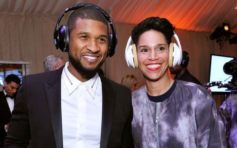 Usher Engaged to Longtime Girlfriend and Business Partner Grace Miguel