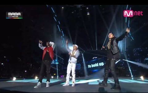 asian migos k pop rap group The Quiett, Dok2 and Bobby 2014 Mnet Asian Music Awards