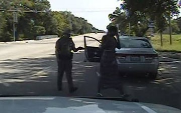 'I will light you up!': Texas officer threatened Sandra Bland with Taser during traffic stop