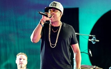 Jay-Z at the Made In American Festival