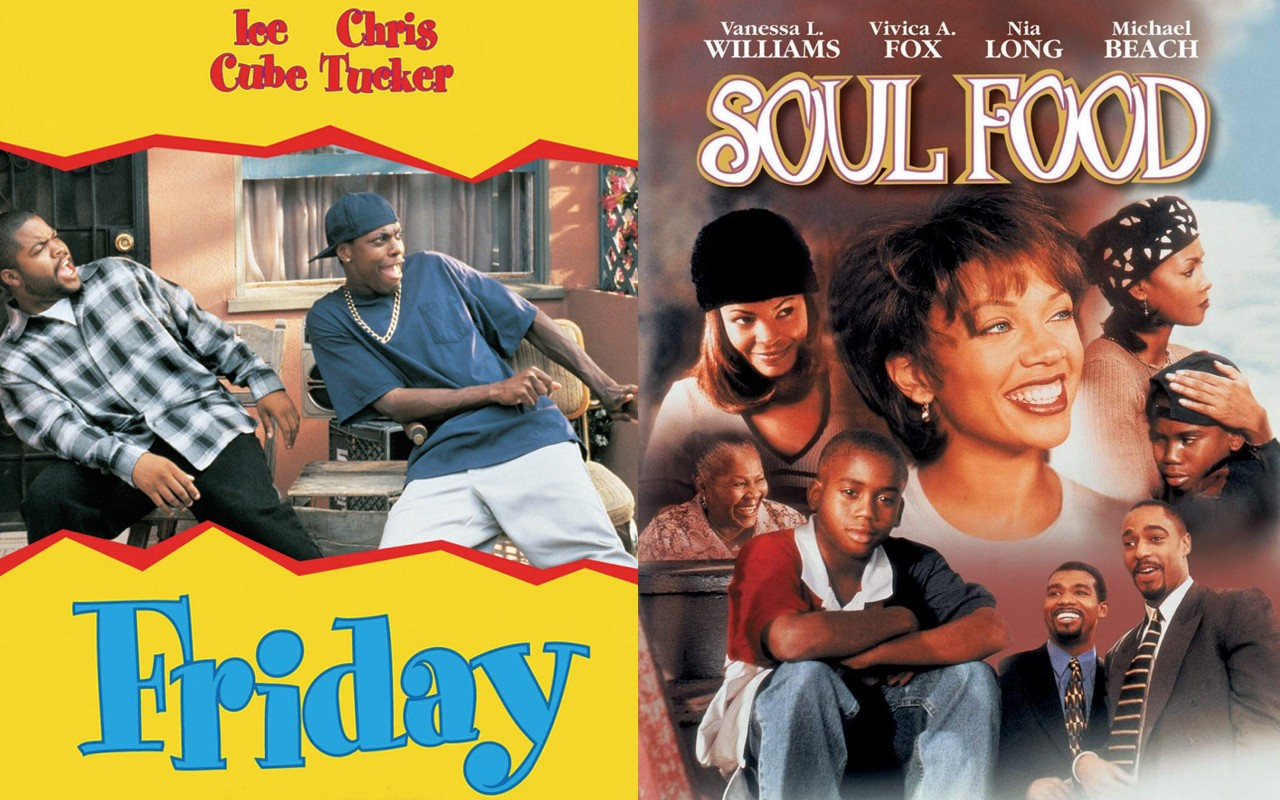 Ten Signs You Are Watching a Black Movie friday soul food