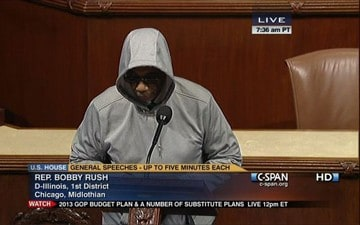 Congressman Bobby Rush Kicked Off House Floor for Wearing Hoodie