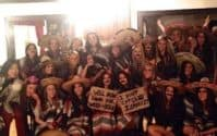 Members of the Chi Omega sorority at Penn State