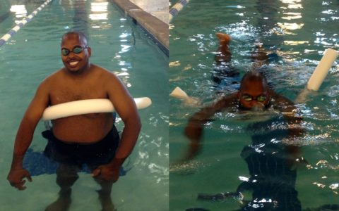 TREADING WATER: Learning to Swim at 35