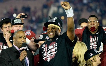 Florida State wins national title with touchdown in final seconds