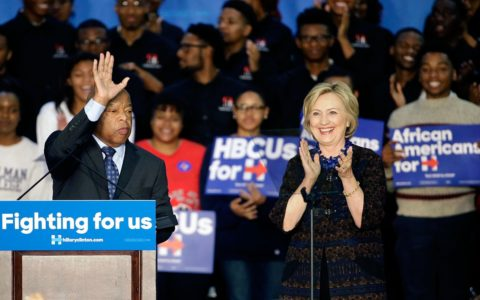 Hillary Clinton Makes Concerted Effort to Court Black Voters