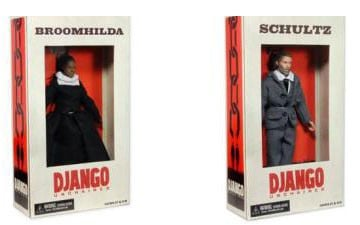 Action figures for 'Django Unchained' draw protest