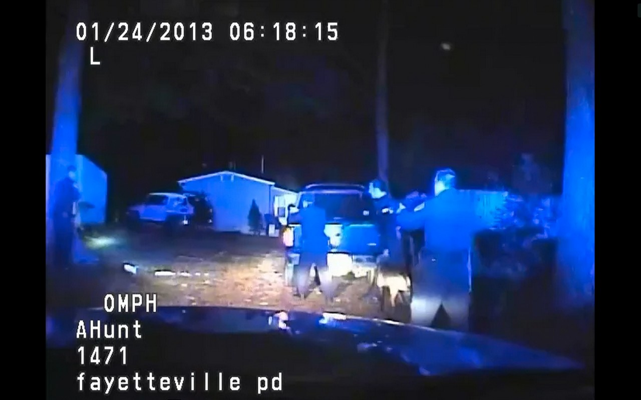 dashcam fayetteville north carolina officer involved