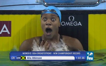 Alia Atkinson Becomes First Black Woman to Win a World Swimming Title
