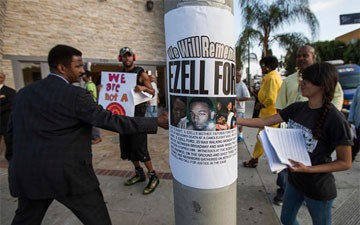 L.A.P.D. Releases Ezell Ford Autopsy