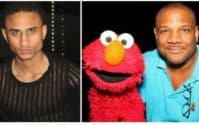 Sheldon Stephens and Elmo puppeteer Kevin Clash