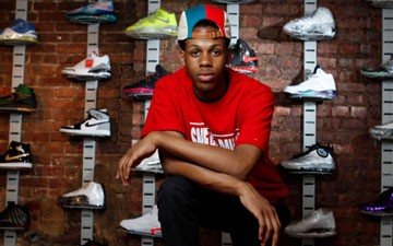 Teen opens world's first pawn shop for $15,000 sneakers