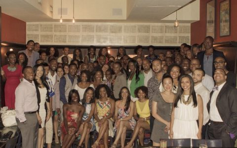 Family Dinner Brings Together Young Professionals for Fellowship, Not Networking
