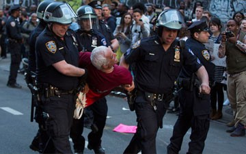 More Than 100 People Arrested in New York Protests