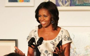 The First Lady Urges Americans to Sign Up for Obamacare