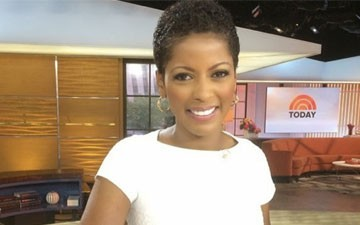 Tamron Hall Rocks Her Natural Hair on the Today Show!